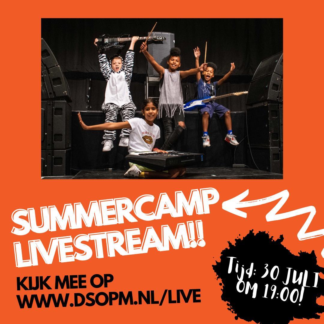 DSOPM Summercamp uitvoeringen