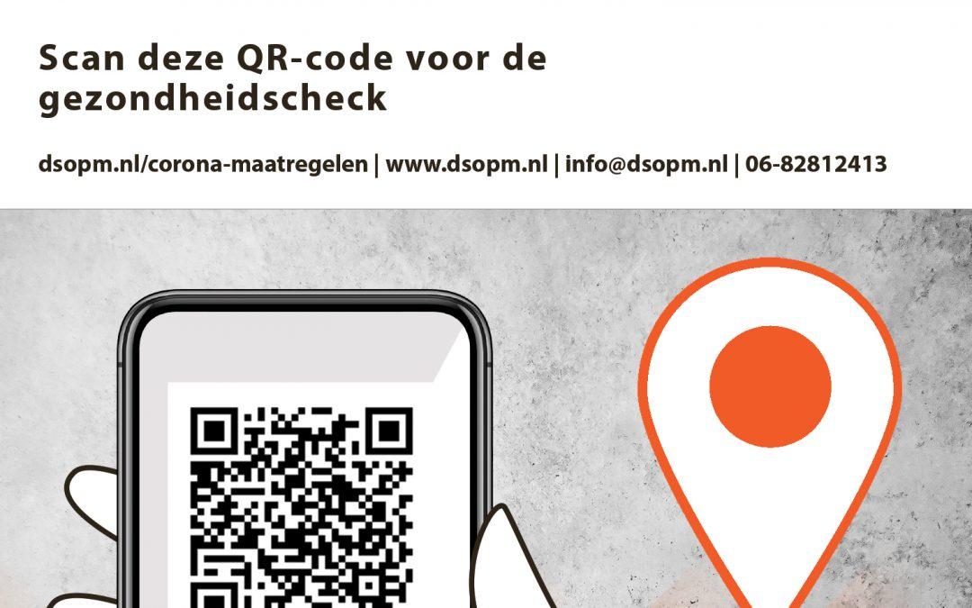 QR-Code Gezondheidscheck