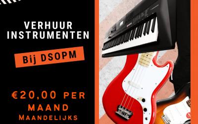Instrument verhuur DSOPM